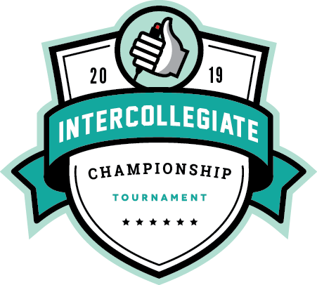 Logo for the 2019 Intercollegiate Championship Tournament