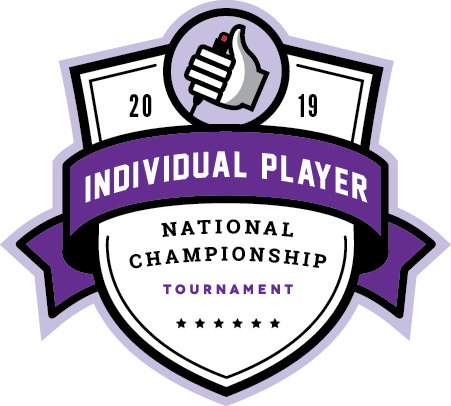 Logo for the 2019 Individual Player National Championship Tournament