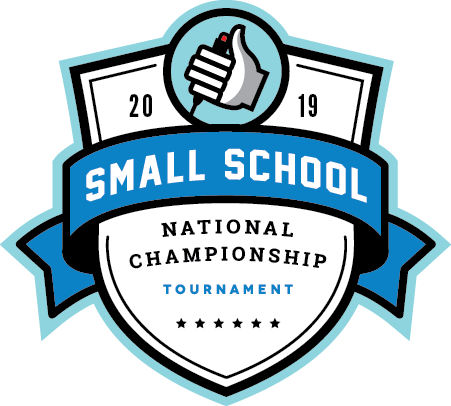 Logo for the 2019 Small School National Championship Tournament