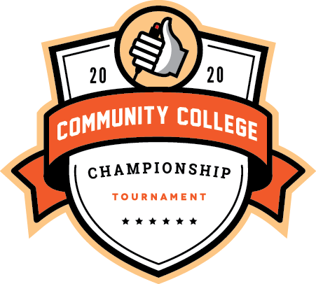 Logo for the 2020 Community College Championship Tournament